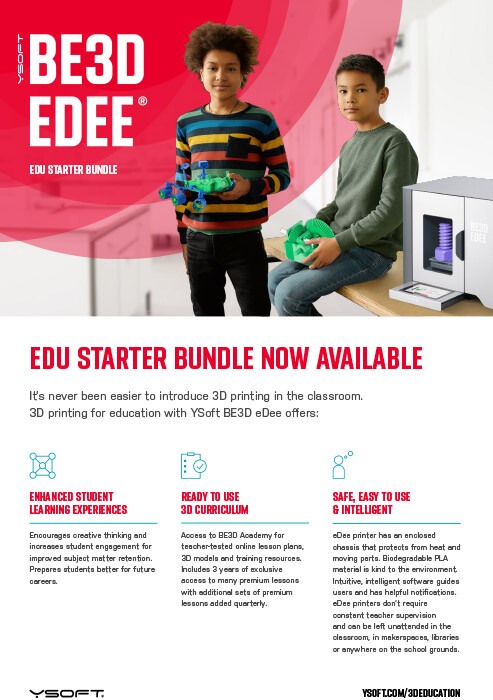 YSoft BE3D EDEE EDU STARTER BUNDLE