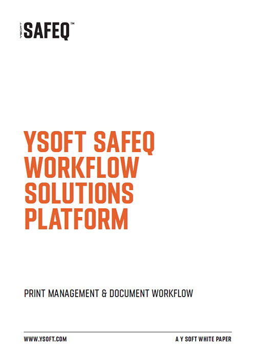 YSoft SafeQ Workflow Solutions Platform