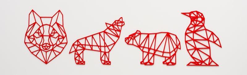 BE3D Academy 3D Lesson: Geometric Animal Art