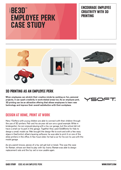 be3D Employee Perk Case Study